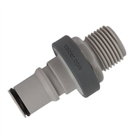 Connector -non spill, 1/2, NPT, male