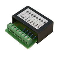 LED terminal block for 5 LED